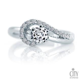 【City Diamond】雪樹銀花 30分鑽戒   City Diamond 引雅