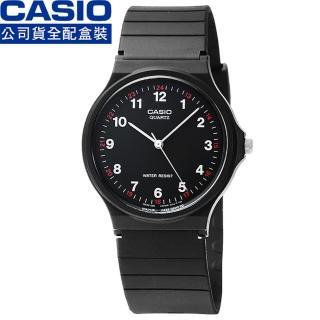 【CASIO】日系卡西歐薄型石英錶-黑(MQ-24-1B)