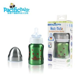 【Pacific Baby】美國不鏽鋼保鮮太空瓶4oz(健康綠)
