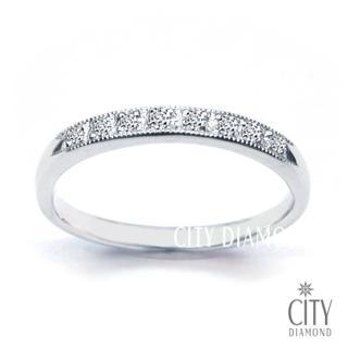 【City Diamond】『晶耀8線戒』鑽戒   City Diamond 引雅