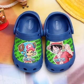 【童鞋城堡】航海王不對稱超輕布希花園鞋(OP2232)