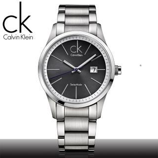 【瑞士 CK手錶 Calvin Klein】絕對經典款_簡約不鏽鋼中性錶(K2246107)