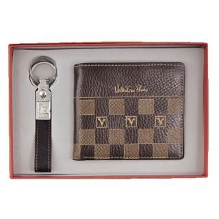 【Valentino Rudy 范倫鐵諾】雙環鎖圈短夾禮盒(SC212)