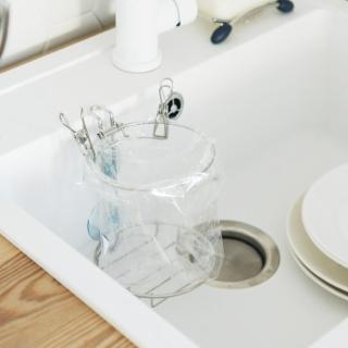 【樂活主義】不鏽鋼水槽收納袋專用架