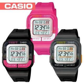 【CASIO 卡西歐】繽紛色彩運動風-慢跑錶(SDB-100)