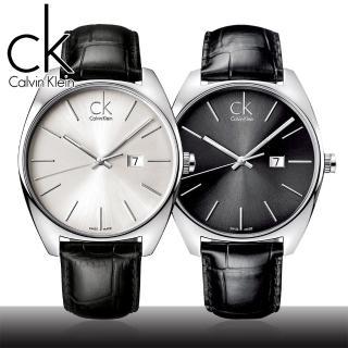 【瑞士 CK手錶 Calvin Klein】經典時尚簡約風格男錶(K2F21107/K2F21120)
