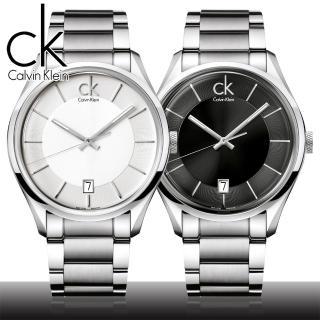 【瑞士 CK手錶 Calvin Klein】經典時怏痊靋榆璅k腕錶(K2H21104-K2H21126)