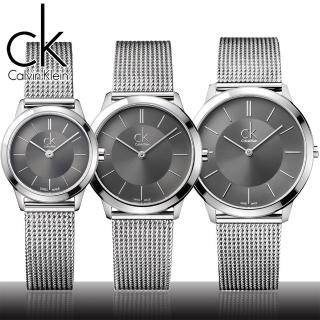 【瑞士 CK手錶 Calvin Klein】中性錶-極簡米蘭編織腕錶(K3M21124-K3M22124-K3M23124)