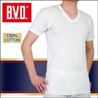 【BVD】100% 純棉男短袖U領衫(5件組)