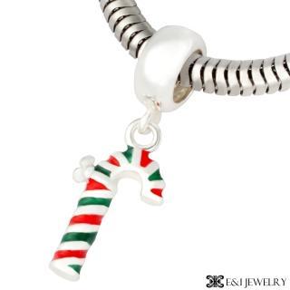 【E&I】CHARMIN 時尚創意手鍊  夢幻童話系列-拐杖糖 316L白鋼造型串珠