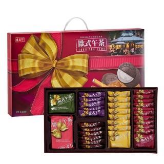 【盛香珍】歐式午茶禮盒580g(盒)