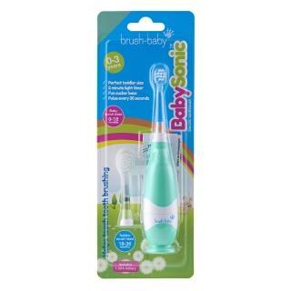 【英國brush baby】嬰幼兒聲波電動牙刷(0-3歲)