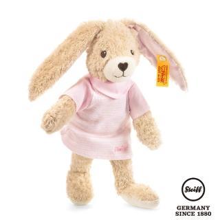【STEIFF德國金耳釦泰迪熊】Hoppel Rabbit 兔子(嬰幼兒玩偶)