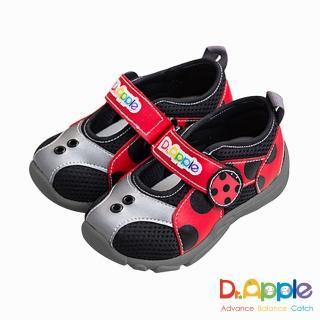 【Dr. Apple 機能童鞋】MIT超輕量可愛昆蟲造型童鞋(紅)