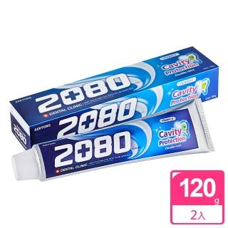 【韓國2080】防蛀護齦牙膏(120gX2入)