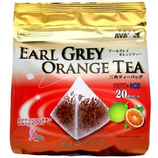 【國太樓】立體三角包格雷伯爵紅茶-柳橙(20袋入)