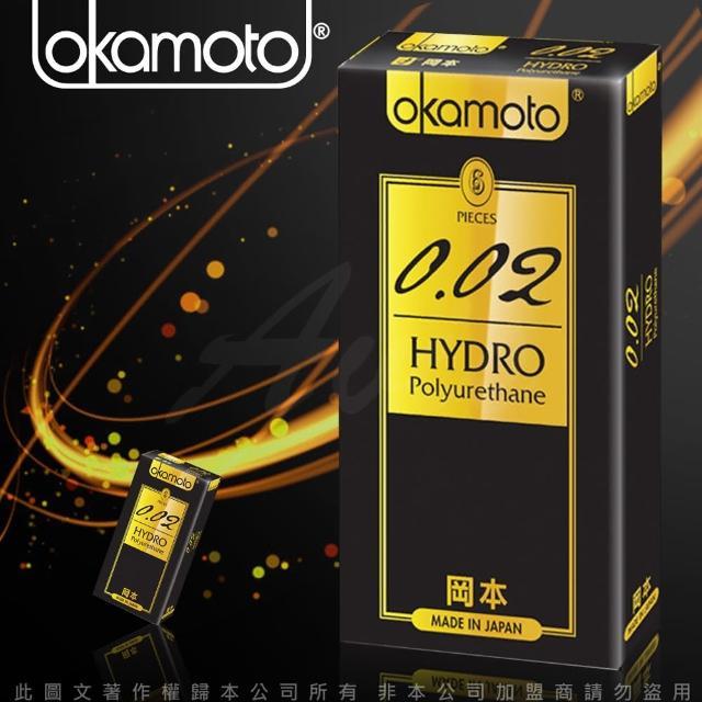 【岡本002】HYDRO 水感勁薄保險套(6入裝)