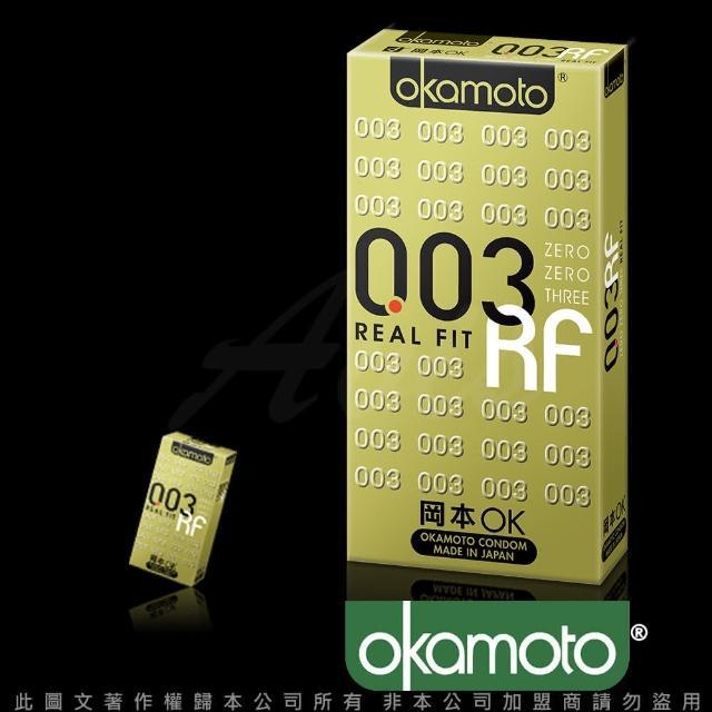 【岡本003】RF極薄貼身保險套(6入裝)