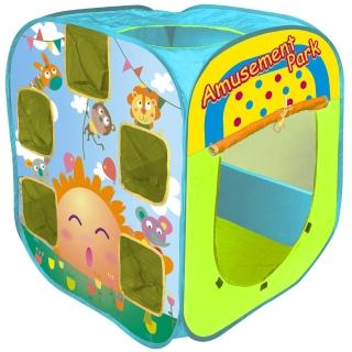 【寶貝樂】遊樂園帳篷折疊遊戲球屋送100球