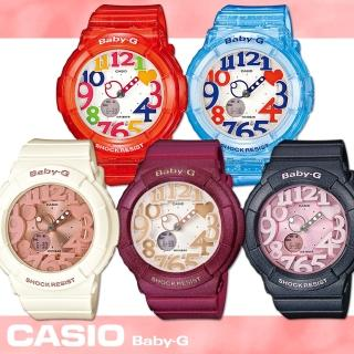 【CASIO 卡西歐 Baby-G 系列】超人氣霓虹照明系列新色登場(BGA-131)