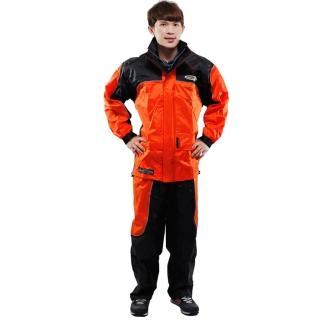 天龍牌 新重裝上陣F1機車型風雨衣- 橘色