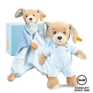 【STEIFF德國金耳釦泰迪熊】Good Night Dog(BABY禮盒)