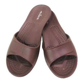 【ALL CLEAN】環保室內拖鞋×3雙(咖啡色)