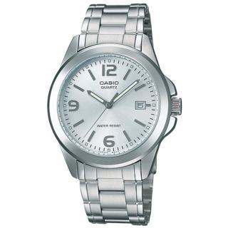 【CASIO 卡西歐】都會紳士風格指針錶(銀-MTP-1215A-7ADF)