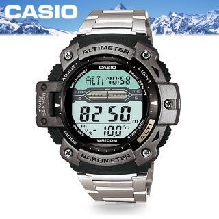 【CASIO 卡西歐 SPORTS 系列】登山概念錶(SGW-300HD)