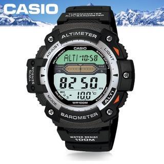 【CASIO 卡西歐 SPORTS 系列】小型輕巧登山錶(SGW-300H)