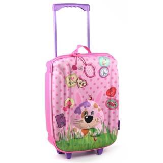 【德國okiedog】兒童3D動物造型拉桿式大行李箱(兔子)