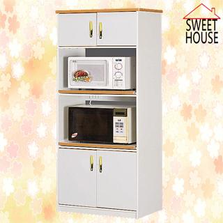 【甜美家】防水防潮抗霉2x6尺電器收納櫃(含隔板/ 插座)