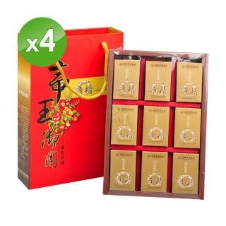 【長庚生技】冬蟲夏草菌絲體雞精禮盒(4盒)