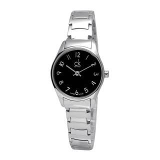 【Calvin Klein】Classic‧經典前衛時尚不鏽鋼腕錶_黑面/小(K4D2314X)