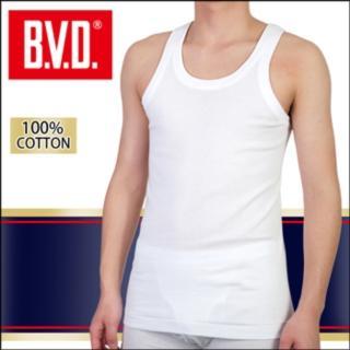 【BVD】100% 純棉背心內衣(9件組)