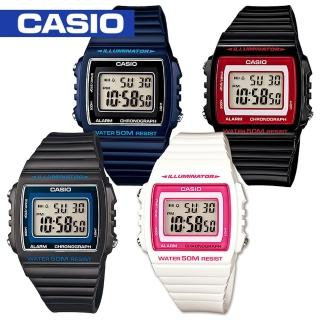 【CASIO 卡西歐】日系-學生/青少年/運動錶(W-215H)