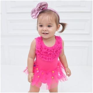 【baby童衣】嬰兒禮服包屁裙 32156(粉)