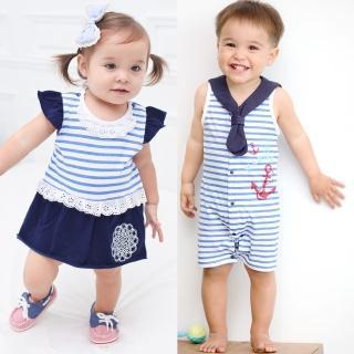 【baby童衣】嬰兒連身衣海軍系列 32012(共二款)