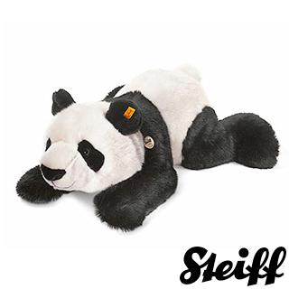 【STEIFF德國金耳釦泰迪熊】Panda 貓熊(動物王國)