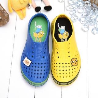 【童鞋城堡】探險活寶老皮阿寶超輕量洞洞懶人鞋(AT7462)