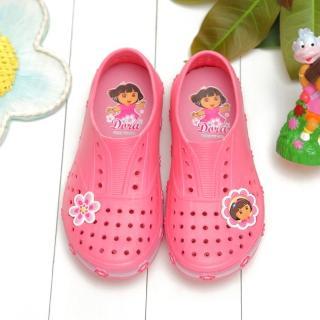 【童鞋城堡】朵拉Dora超輕量洞洞懶人鞋(DR87028)