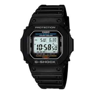 【CASIO 卡西歐 G-SHOCK 系列】太陽能電力_耐衝擊構造_運動錶(G-5600E)