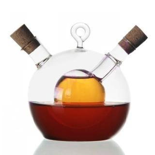 【PUSH! 廚房用品餐具】醋瓶醬油瓶油瓶調味瓶(人工吹製)