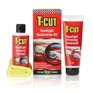 【CarPlan卡派爾】T-CUT大燈拋光修復鍍膜組