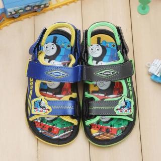 【童鞋城堡】湯瑪士小火車運動風兩用型涼鞋(TH4323)