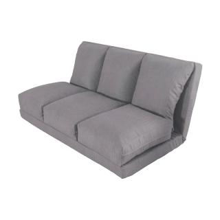 【伊登沙發床】『咖啡格林紋』多功能雙人沙發床
