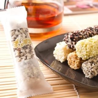 【台灣製零嘴首選! 老師傅】小米酥海苔黑糖綜合口味(6包特惠組)