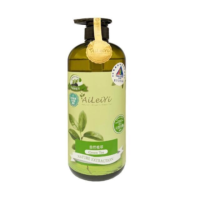 【AiLeiYi】天然修護洗髮精(清新綠茶1000ml)