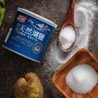【紅布朗】澳洲天然湖鹽(300gX1罐)