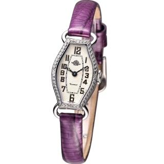 【Rosemont 玫瑰錶】骨董風玫瑰系列腕錶(RS-024-04-PU 紫色皮)